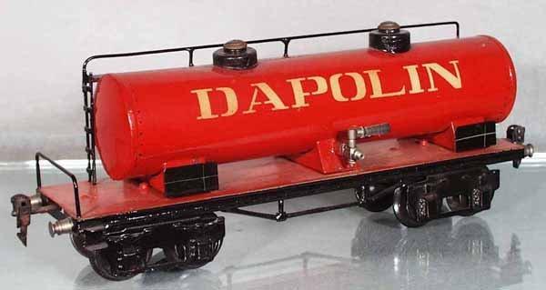 16: MARKLIN 1954/1 DAPOLIN TANK CAR
