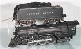 238: LIONEL 226E LOCO & 2226W TENDER