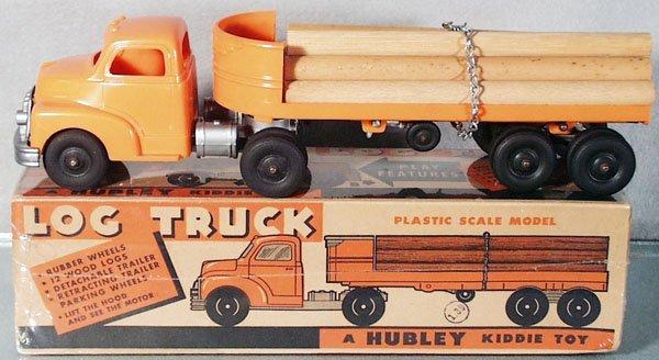 7: HUBLEY KIDDIE TOY 356 LOG TRUCK