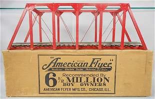 AMERICAN FLYER 211 UNIVERSAL BRIDGE