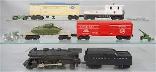 LIONEL-ALLSTATE 9820 MILITARY TRAIN SET