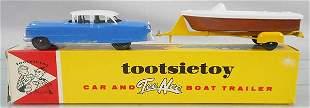 TOOTSIETOY 3930 CAR & BOAT SET