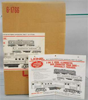 LIONEL 1766 1977 SERVICE STATION SPECIAL