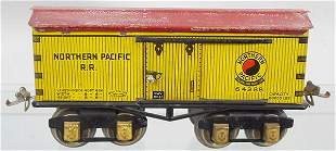 IVES 64 NORTHERN PACIFIC BOX CAR