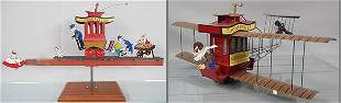 2 TOONERVILLE TROLLEY TOYS