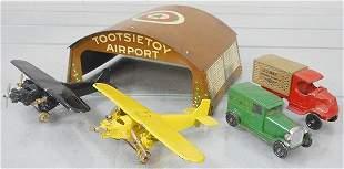 TOOTSIETOY AIR MAIL SET