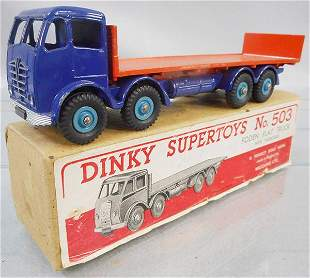 DINKY 503/903 FODEN FLAT W/TAILBOARD