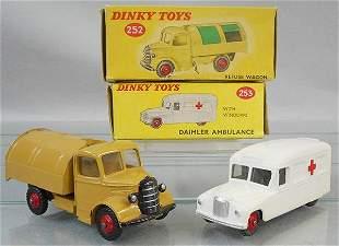 2 DINKY VEHICLES