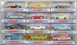 12 DINKY MATCHBOX VEHICLES