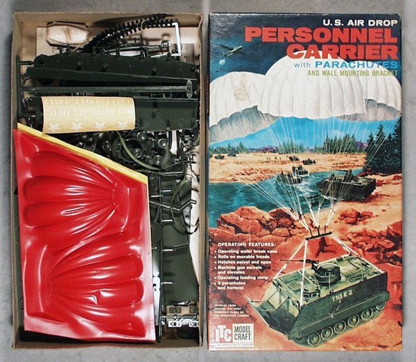 22: ITC 3670 US PERSONNEL CARRIER MODEL KIT