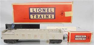 LIONEL 3562-25 BARREL CAR