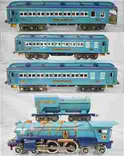LIONEL BLUE COMET TRAIN SET