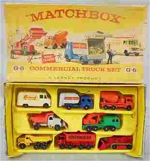 MATCHBOX G-6 COMMERCIAL TRUCK SET
