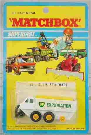 MATCHBOX SUPERFAST 61B3 ALVIS STEWART MT BLISTER PACK