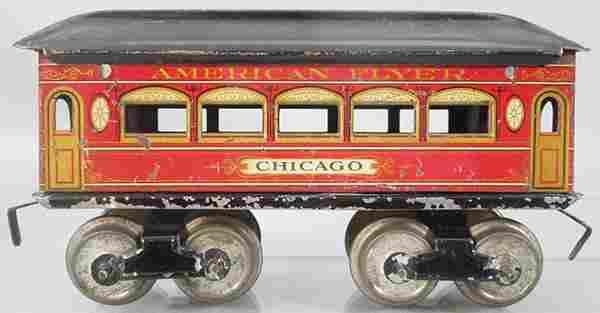 AMERICAN FLYER CHICAGO COACH