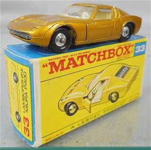 MATCHBOX 33C3 LAMBORGHINI MIURA