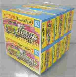 MATCHBOX 62B1 COUGAR DRAGSTER SHIPPING CUBE