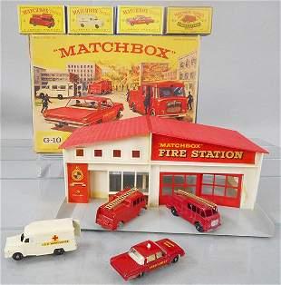MATCHBOX G-10 FIRE STATION SET