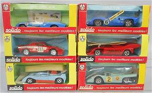 6 SOLIDO RACERS