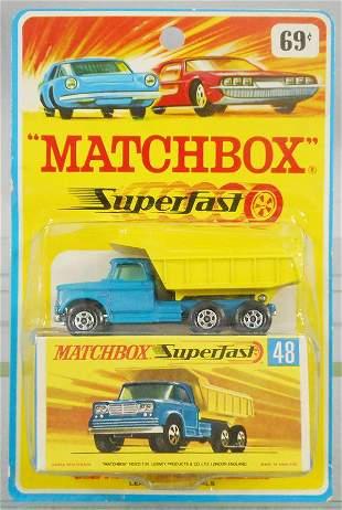 MATCHBOX SUPERFAST 48A1 DODGE TRUCK BLISTER PACK