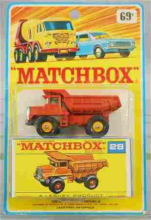 MATCHBOX 28D1 MACK TRUCK BLISTER PACK