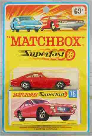 MATCHBOX SUPERFAST 75A3 FERRARI BERLINETTA BLISTER PACK