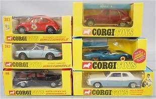 6 CORGI VEHICLES