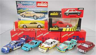 7 SOLIDO VEHICLES