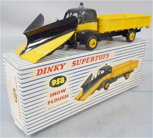 DINKY 958 SNOW PLOUGH