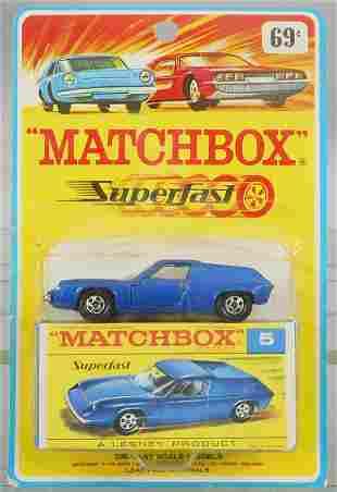 MATCHBOX SUPERFAST 5A1 LOTUS EUROPA BLISTER PACK