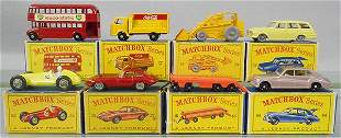 8 MATCHBOX VEHICLES