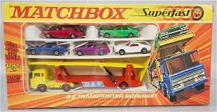 MATCHBOX SUPERFAST G-2 TRANSPORTER SUPER SET