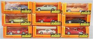 9 SOLIDO VEHICLES