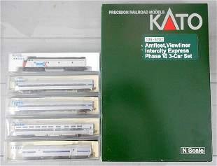 KATO AMTRAK VIEWLINER TRAIN SET
