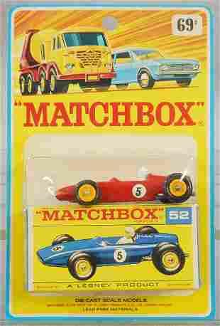 MATCHBOX 52B5 BRM RACE CAR BLISTER PACK