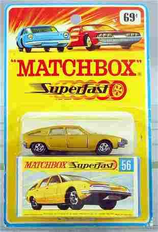 MATCHBOX SUPERFAST 56A1 BMC PININFARINA BLISTER PACK