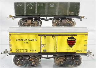 IVES FREIGHT CARS