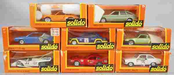 8 SOLIDO VEHICLES