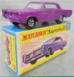 MATCHBOX SUPERFAST 22A4 PONTIAC COUPE