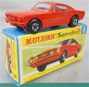 MATCHBOX SUPERFAST 8A2 MUSTANG