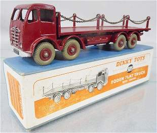 DINKY 505 FODEN FLAT W/CHAINS
