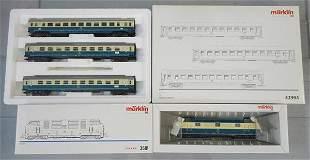 MARKLIN GERMAN TRAIN SET