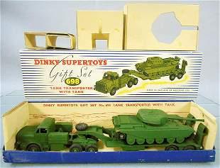 DINKY 698 TANK TRANSPORT GIFT SET