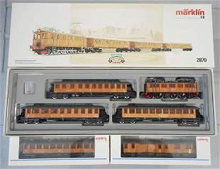 MARKLIN SWEDISH TRAIN SET