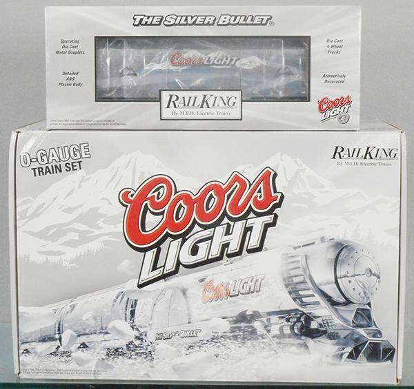 MTH RAIL KING 30-1433-1 COORS LIGHT TRAIN