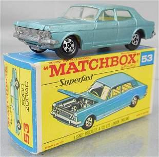 MATCHBOX SUPERFAST 53A1 FORD ZODIAC