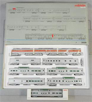MARKLIN 26600 CALIFORNIA ZEPHYR TRAIN SET