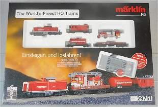 MARKLIN 29751 FIREFIGHTING SET