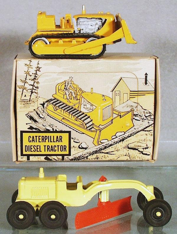 3: TOOTSIETOY CONSTRUCTION EQUIPMENT
