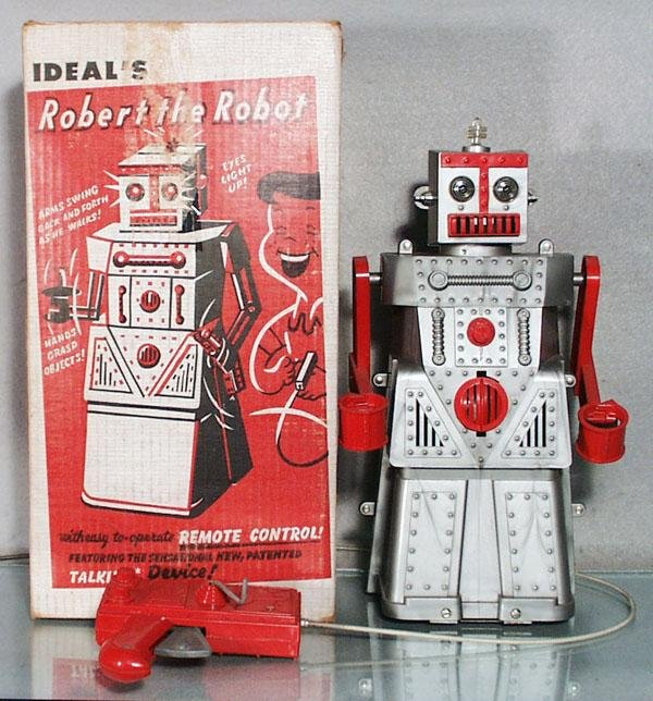 19: IDEAL ROBERT THE ROBOT
